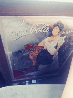 1960 cola wall clock that's been repaired n works. for Sale in Cordova, AL