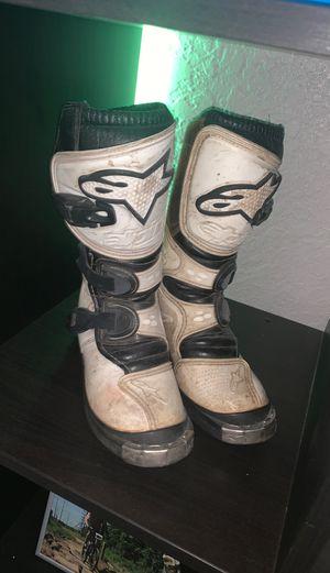 Alpinestars kids motocross boots for Sale in St. Petersburg, FL