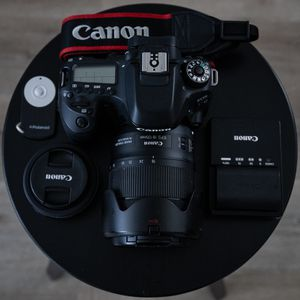 Canon 80D and 2 lenses. for Sale in San Diego, CA