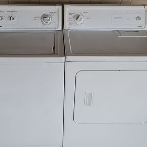 KENMORE Heavy Duty Extra Large Capacity Washer & Dryer Set-WORKS GREAT! for Sale in Dallas, TX