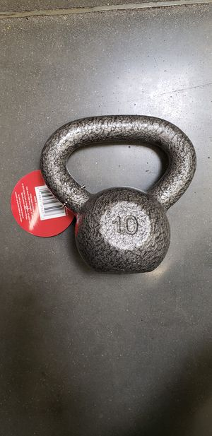 Kettlebell 10lbs Pounds Exercise Weight Brand New for Sale in Fresno, CA