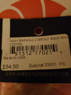 Vanquish method 2.2 mr307 black rc wheels 3 sets of 2 originally $54.50 a set for Sale in Traverse City,  MI
