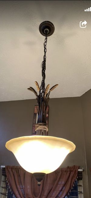 Chandelier 3 for $110 for Sale in Port St. Lucie, FL