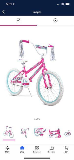 "Huffy 20"" Sea Star Girls' Bike, Pink for Sale in Bethesda, MD"
