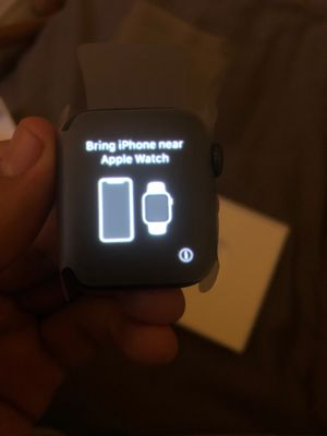 Apple Watch series 4 40mm sports grey for Sale in San Jose, CA