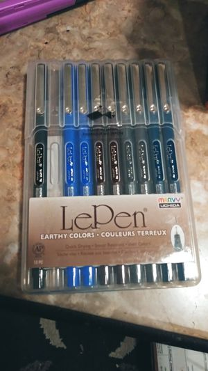 Marvy Uchida Le Pen Fine tip 0.3 pens for Sale in Sacramento, CA
