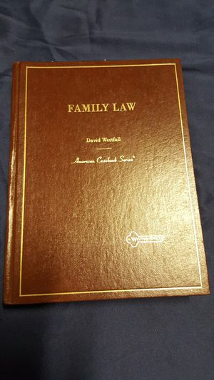Family Law (American Casebook Series) for Sale in Las Vegas, NV