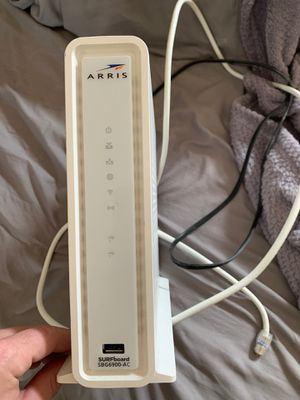 Arris SURFboard SBG6900-AC WiFi router modem for Sale in Culver City, CA