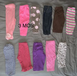 Girl pants (size 3 months) for Sale in Centreville, VA