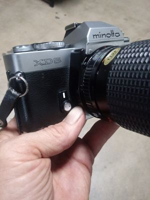 Clean Minolta XD-5 circa@1979 w/35-75mm Zoom TESTED plus Batteries/Film! for Sale in Chino, CA