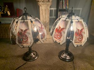 Dragon metal lamps for Sale in Bensenville, IL
