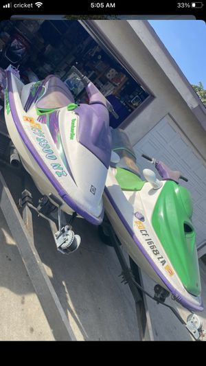 SEADO JETSKI COMES WITH TRAILER CLEAN TITLE for Sale in Commerce, CA
