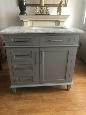 Home Decorators Pebble Grey Vanity for Sale in Orange, CA