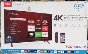 """TCL 55S403 55"""" 4K UHD HDR Roku Smart TV for Sale in Arlington, TX"""