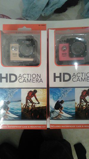 Two action cameras for Sale in Temecula, CA