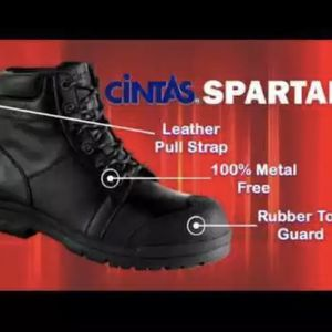 NEW MENS CINTAS Leather WORK Extra Wide Composite Toe Cap BOOTS BLACK SIZE 11.5 for Sale in Vancouver, WA