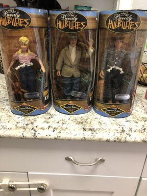 Beverly Hillbillies Action Figures for Sale in Tampa, FL