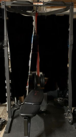 MarcyPro Gym Equipment Free Weight Bench Press| Squat | Pull Up bar for Sale in Santa Ana, CA