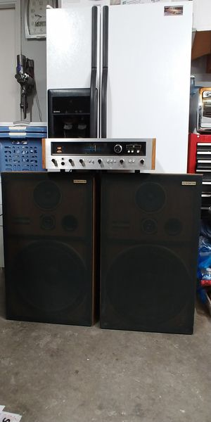 Vintage Pioneer SX2500 RECEIVER and CS-G403 SPEAKERS for Sale in San Jose, CA