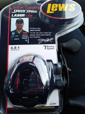 Lews lazer lzr fishing reel ( brand new) for Sale in Sacramento, CA