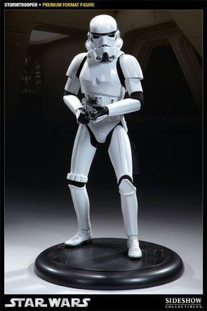 Sideshow Collectibles Star Wars Stormtrooper Premium Format Statue 1/4 Scale for Sale in Montebello, CA