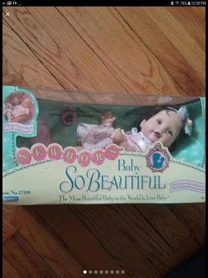 Newborn baby so beautiful doll for Sale in Valley Stream, NY