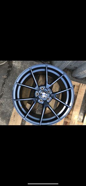 "Bmw Matt blk 19"" new rims tires set for Sale in Hayward, CA"