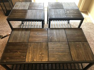 Coffee table set for Sale in Wichita, KS