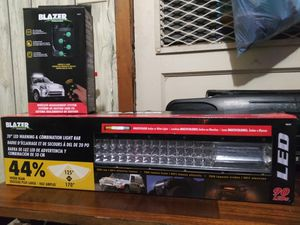 Blazer led warning/combination light bar with blazer led module for Sale in San Antonio, TX