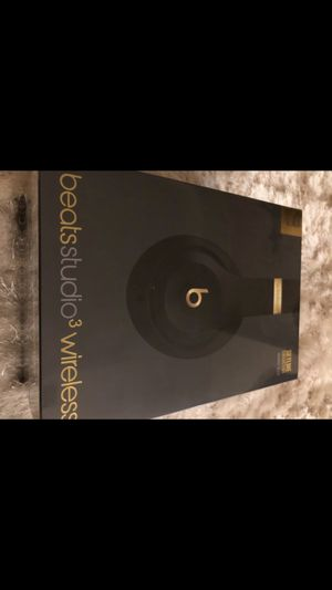 Beats studio 3 wireless headphones brand new in a sealed box for $250 ( original price $350) for Sale in Southwest Ranches, FL