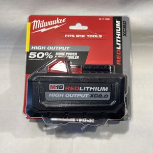 Milwaukee M18 8.0 Battery for Sale in Dundalk, MD