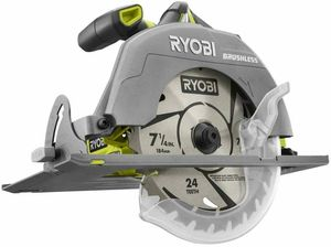 Ryobi ONE+ P508 7-1/4 in. Circular Saw 18V Cordless Brushless Tool Only for Sale in Nashville, TN