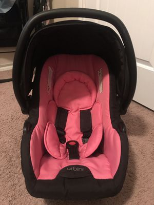 Urbini Pink Car Seat & Stroller for Sale in Fort Worth, TX