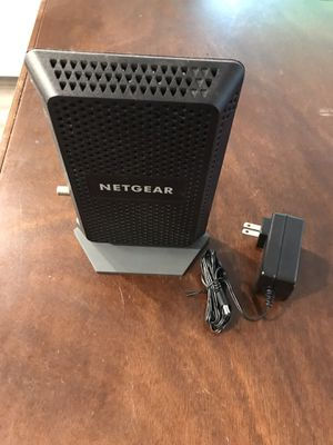 Netgear CM600 - works with Xfinity - cable modem docsis 3.0 for Sale in Roswell, GA