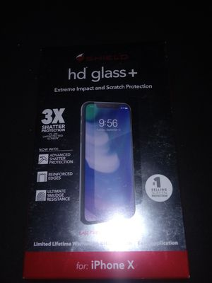 Iphone X screen protector for Sale in Riverside, CA