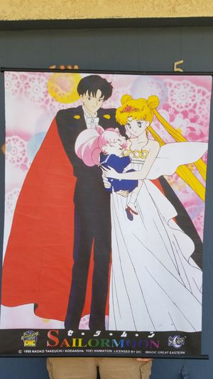 Sailor moon cloth poster for Sale in Highland, CA