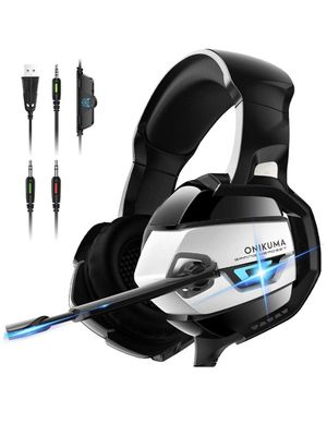 Gaming Headset - Xbox One Headset PS4 Headset PC Headset with Noise Canceling Mic &7.1 Surround Bass, Gaming Headphones for PS4, Xbox One, PC, Mac, N for Sale in Alhambra, CA