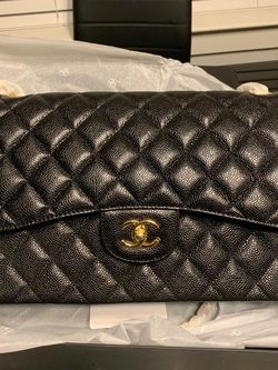 Black Chanel Classic Double Flap Bag for Sale in Cedar Hill,  TX