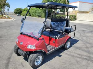 New 2020 Evolution Candy Apple Red Classic 4 Seat Golf Cart for Sale in Santa Ana, CA