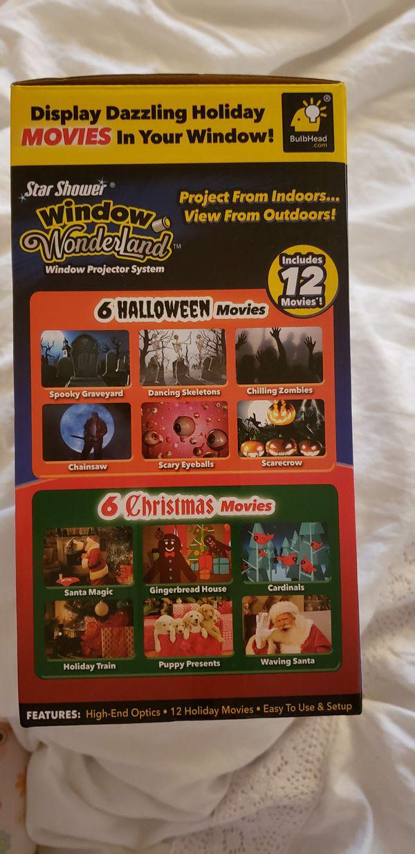 Halloween/Christmas projector