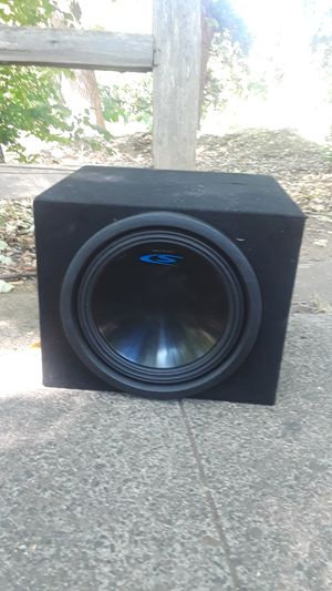 """Alpine 10"""" Sub Woofer S -eries Box for Sale in Chico, CA"""