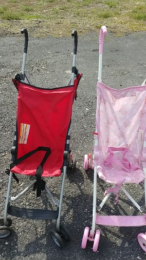 A boy and a girl stroller for Sale in North Fort Myers, FL