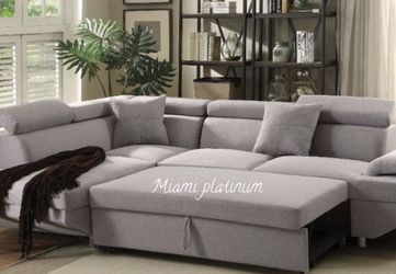 Sectional Sofa Sleeper/// Financing Available for Sale in Hialeah,  FL