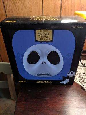 Nightmare Before Christmas Jack Wall Mask NECA for Sale in UPPR CHICHSTR, PA