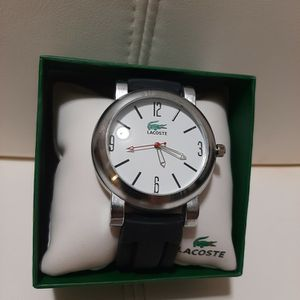 Mens Watch White Dial Black Strap New for Sale in Toms River, NJ