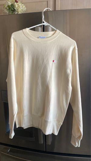 Champion Cream Sweatshirt for Sale in Henderson, NV
