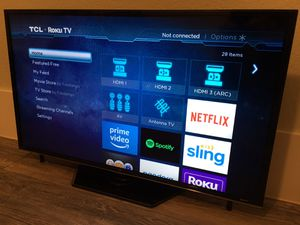 "TCL Roku TV 40"" Smart TV for Sale in Peoria, AZ"