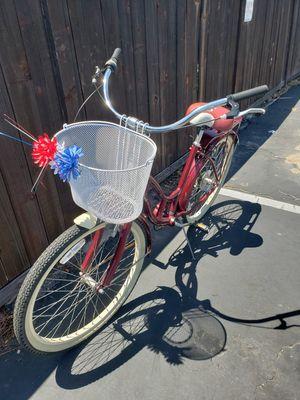 Rocking Metallic Burgandy Red Schwinn Beach Cruiser 7Speed for Sale in HUNTINGTN BCH, CA