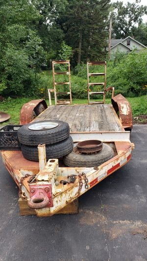 12 foot skid steer heavy duty trailer for Sale in South Holland, IL