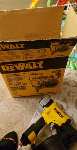 Dewalt nailer for Sale in Wichita, KS